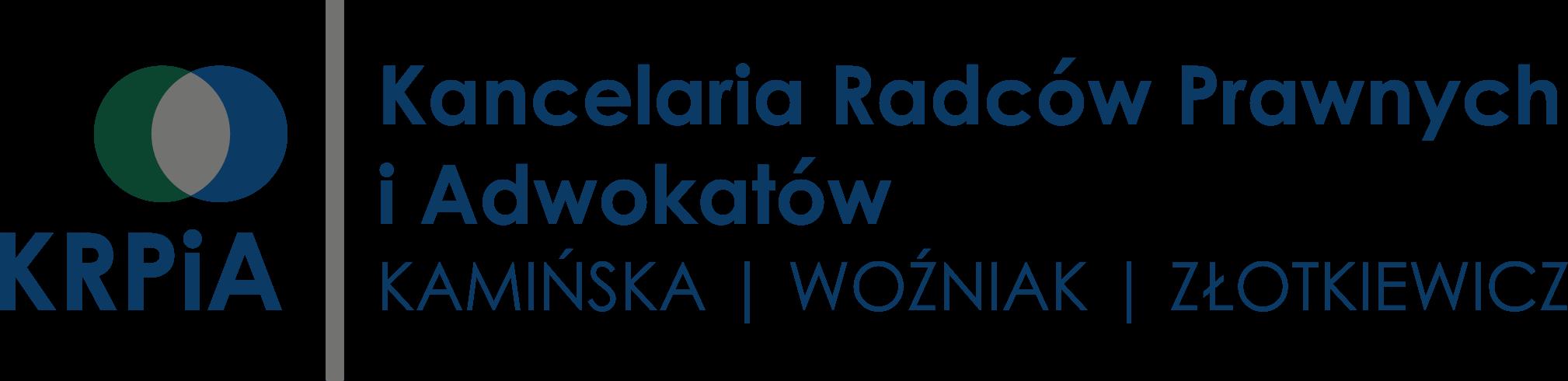 Kancelaria Radców Prawnych i Adwokatów Kamińska, Woźniak, Złotkiewicz Sp.j.